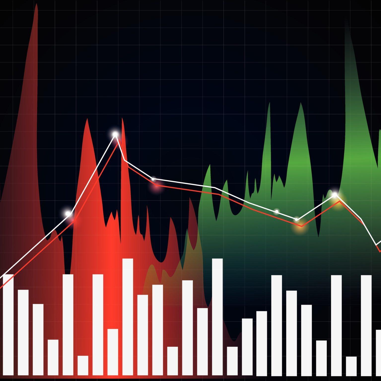 Vector stock diagram, business graph.